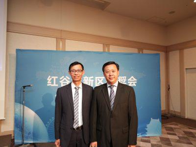 南昌红谷滩新区组织的VR招商大会
